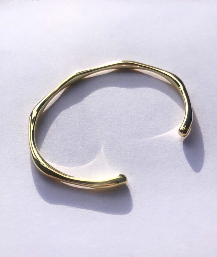 New! Jodie Organic Cuff Bangle