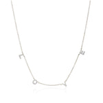 PRE ORDER Jodie - Love Necklace In Silver