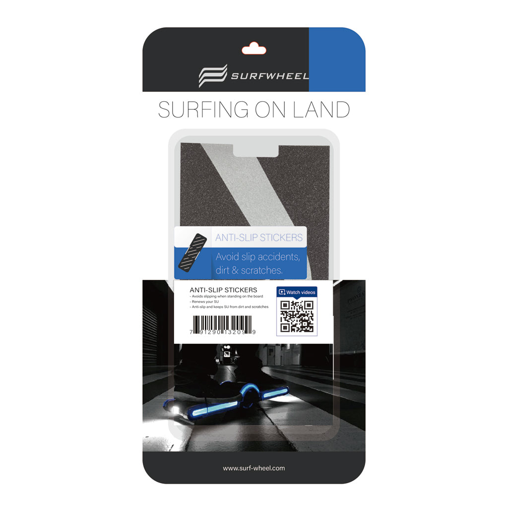 Surfwheel SU Anti-slip sticker - Black