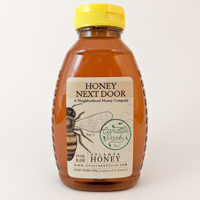 3 oz Pure Raw Atlanta Honey