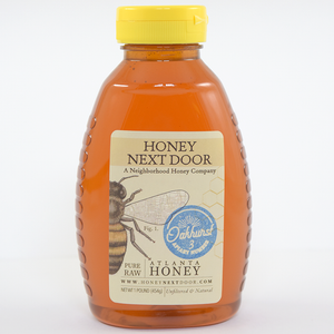 1 Gallon Pure Raw Atlanta Honey
