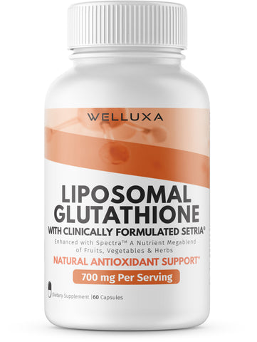 Welluxa Liposomal Glutathione with Setria and Spectra