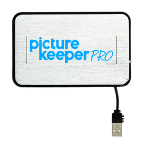 Picture Keeper Pro (500GB) Save up to 125,000 photos, videos, music and more from your PC and Mac computers. Bonus: Save from online locations such as Facebook or Email!