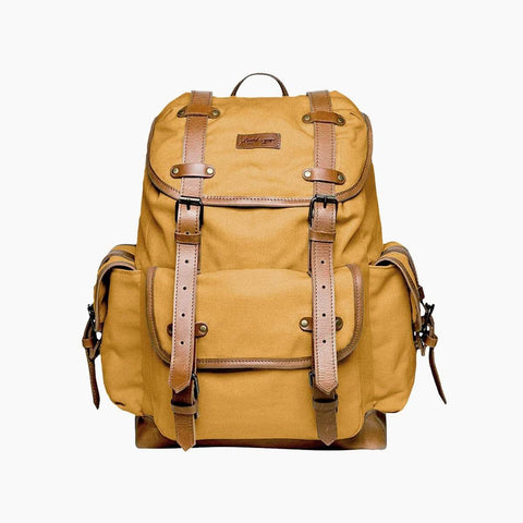 Henry Backpack in Ochre - Beatnik & Sons