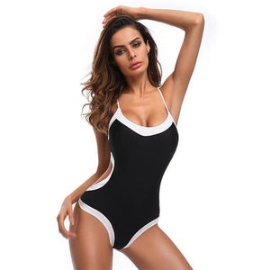 Popular Women Bandage Bikini Monokini Push Up