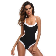 Load image into Gallery viewer, Popular Women Bandage Bikini Monokini Push Up