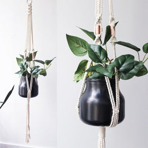 Macrame Plant Hanger, Hanging Planter, Cotton,
