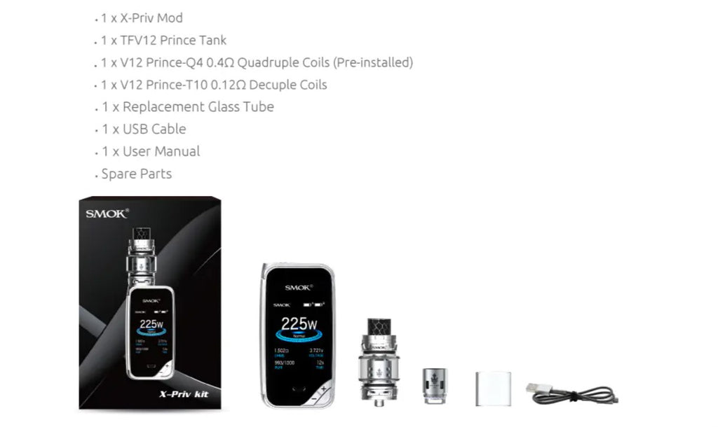 SMOK X-Priv Kit \ Major Mods