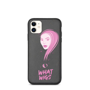 Biodegradable WhatWigs Logo Case