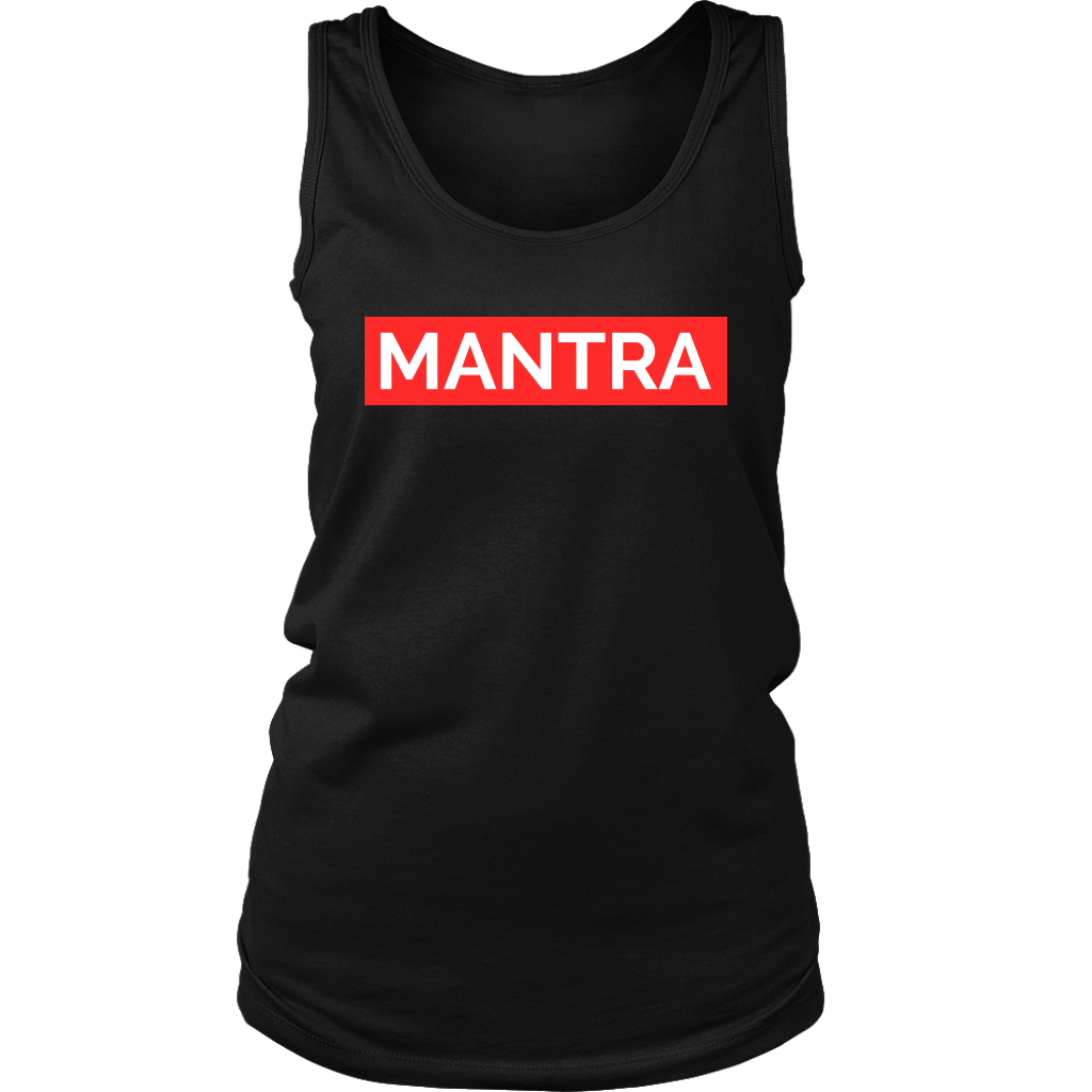 Yoga Fitness t-shirt and tank-top MANTRA