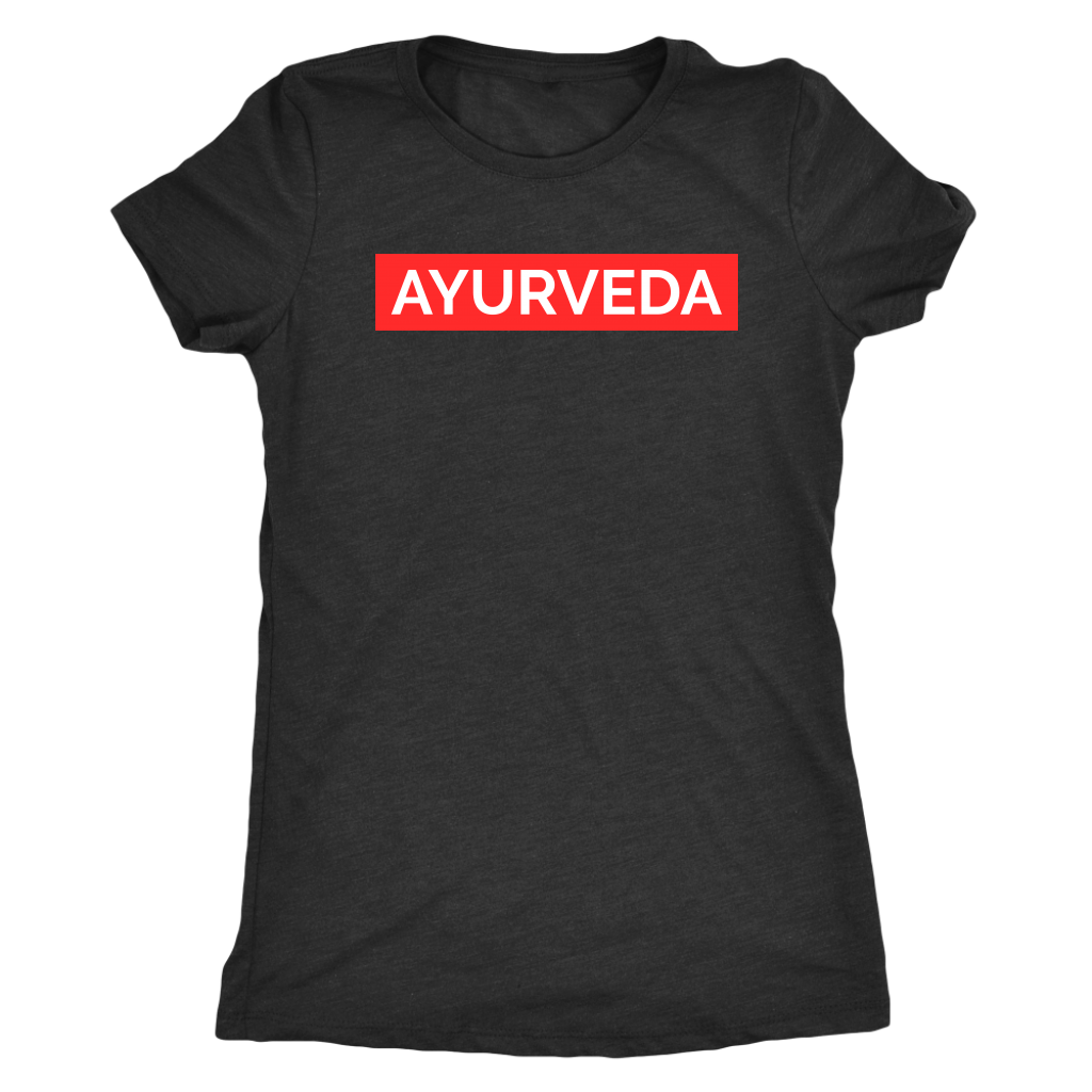 Yoga Fitness t-shirt and tank-top AYURVEDA