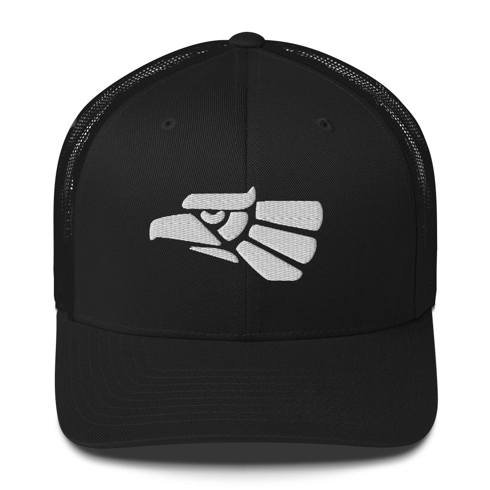 Hecho en Mexico seal design Trucker Cap