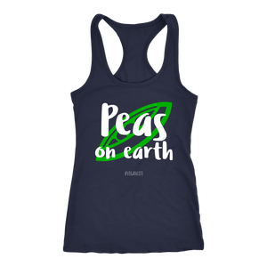 Peas on Earth shirt and tank top #VEGANLIFE