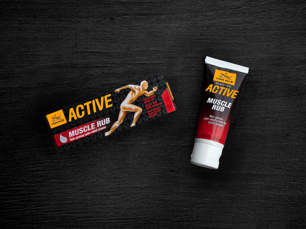 Tiger Balm Active Muscle Rub (recommended product)