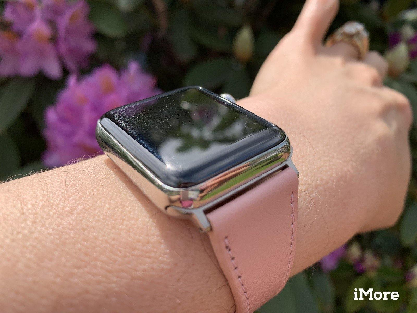 iMore's Hands-On Review: Burkley Slim Leather Band for Apple Watch | Burkley Case