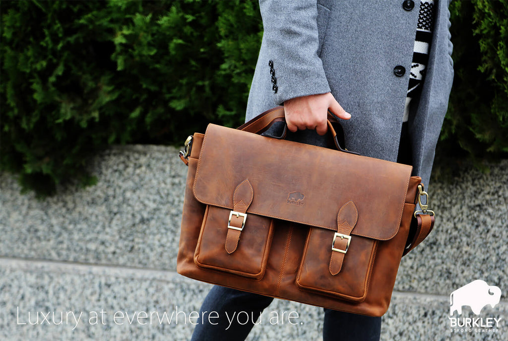 Burkley Case Leather Bag