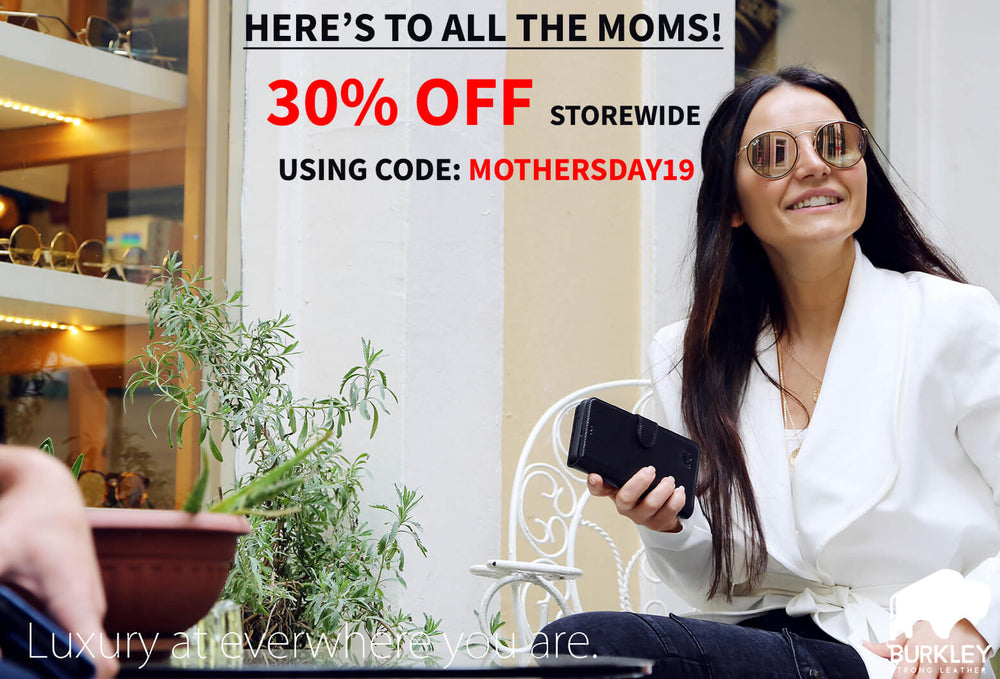Mothers Day Discount on Leather Phone Cases