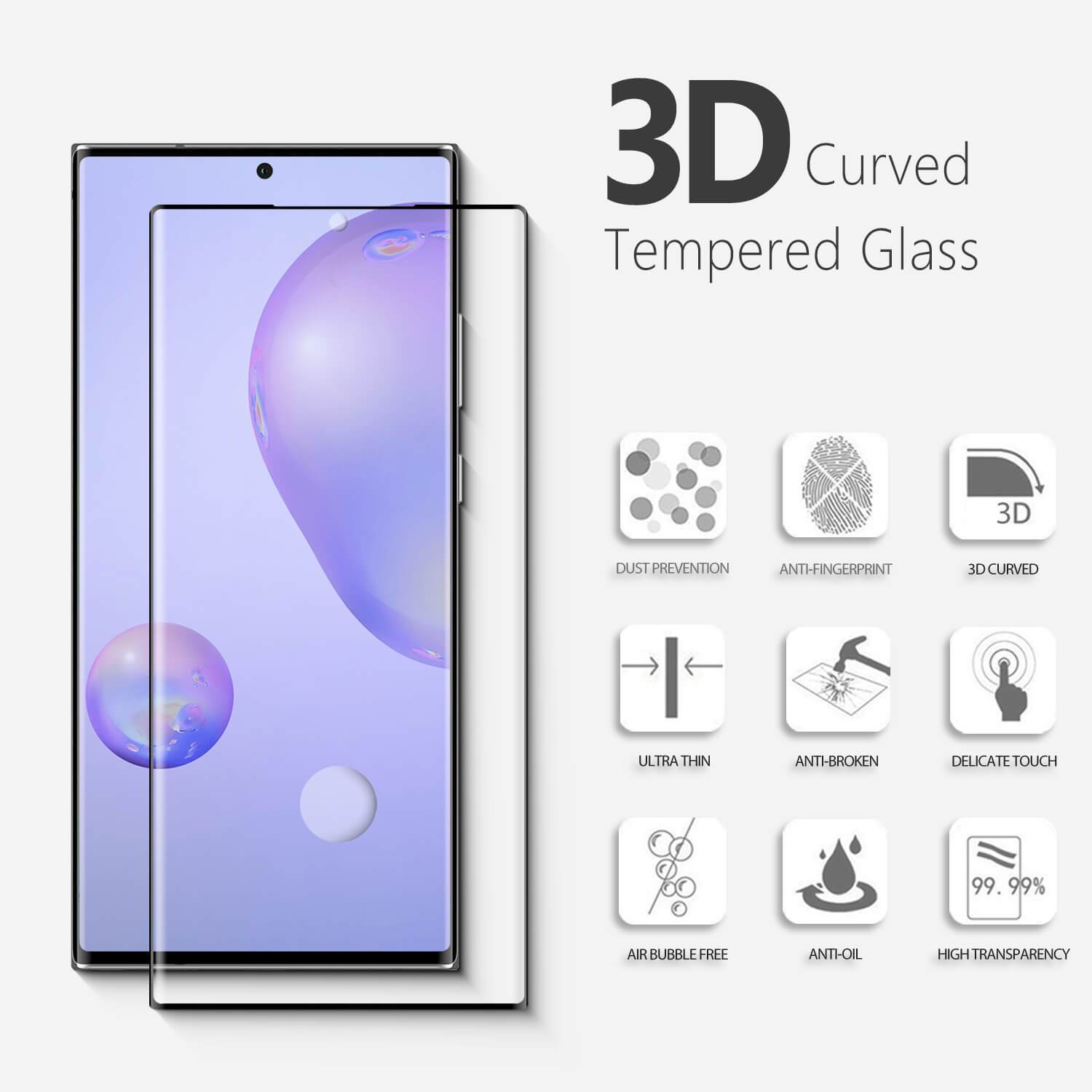 Screen Protector Tempered Glass for Samsung Galaxy Note 20