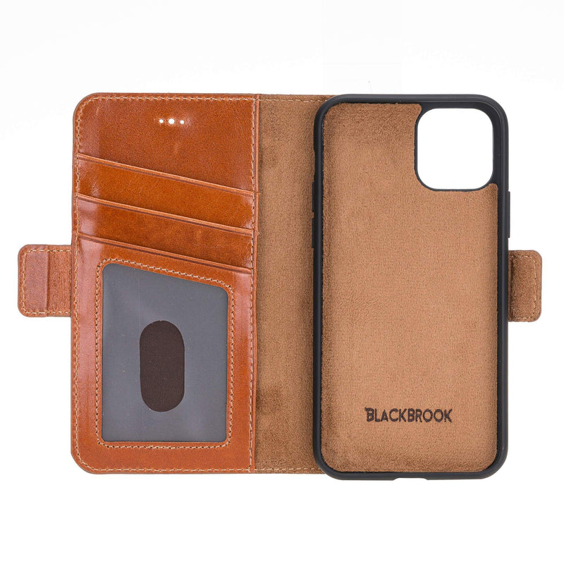 "Dalton Leather Folio Wallet Case for Apple iPhone 11 PRO (5.8"")"