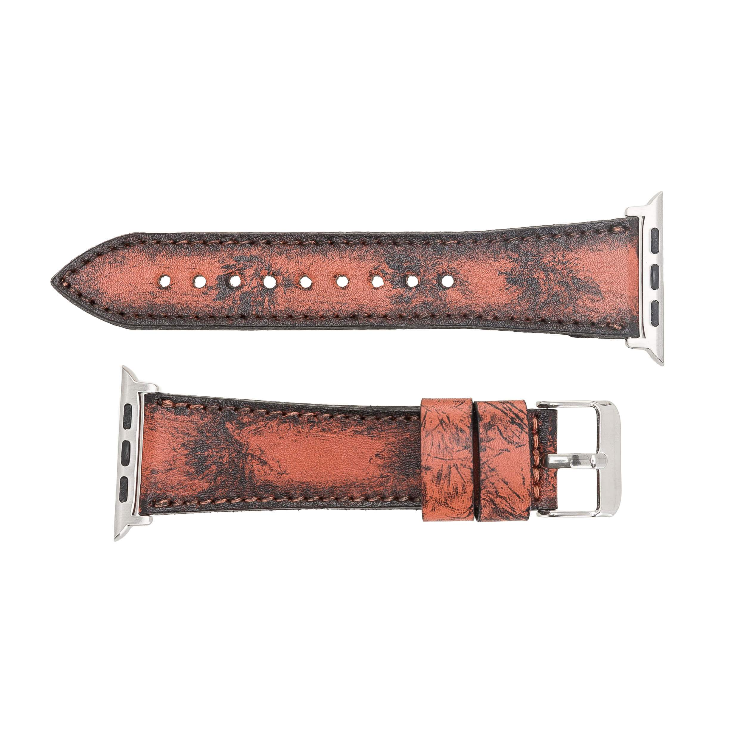 Rustic Leather Band for Apple Watch 42mm / 44 mm