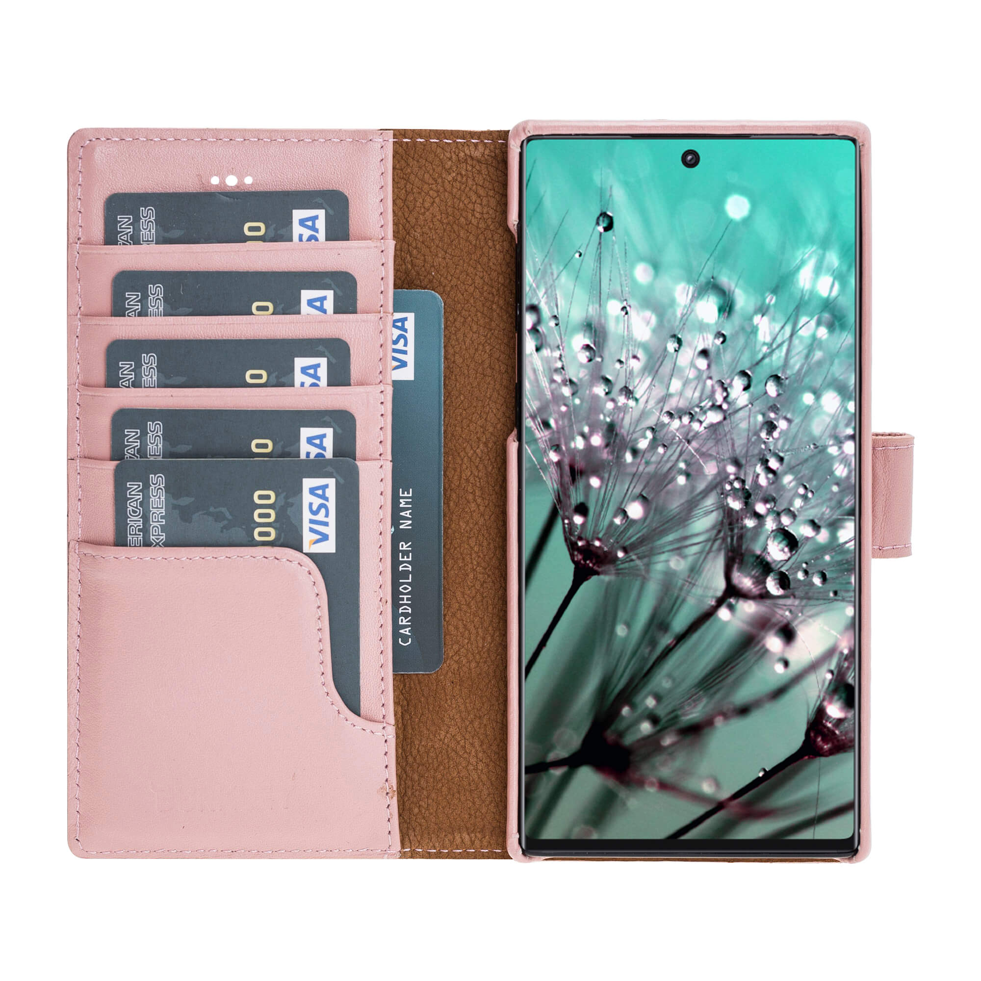 Pieno Full Leather Covered Magnetic Detachable Wallet Case for Samsung Galaxy NOTE 10