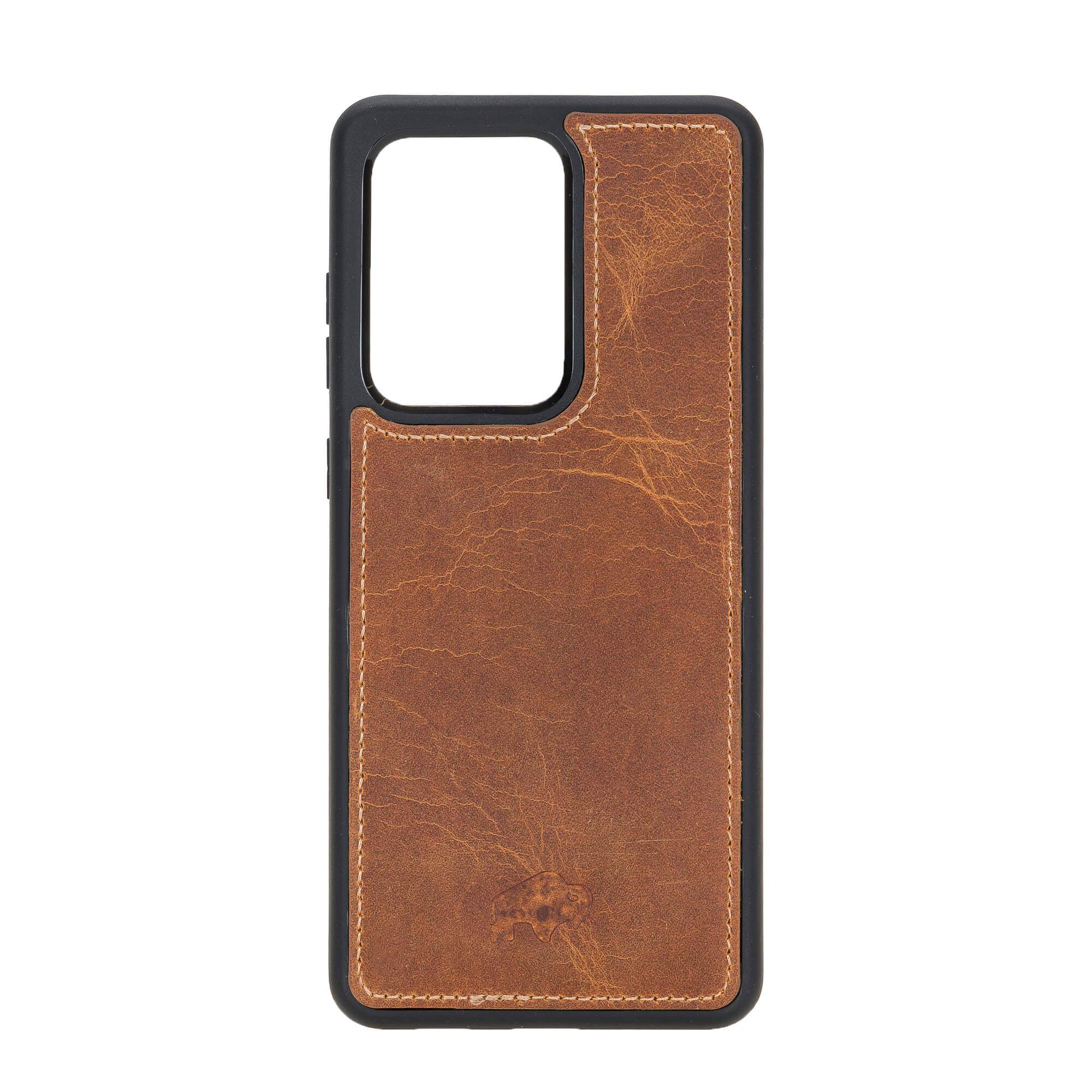 York 360 Degree Leather Snap On Case for Samsung Galaxy S20 ULTRA