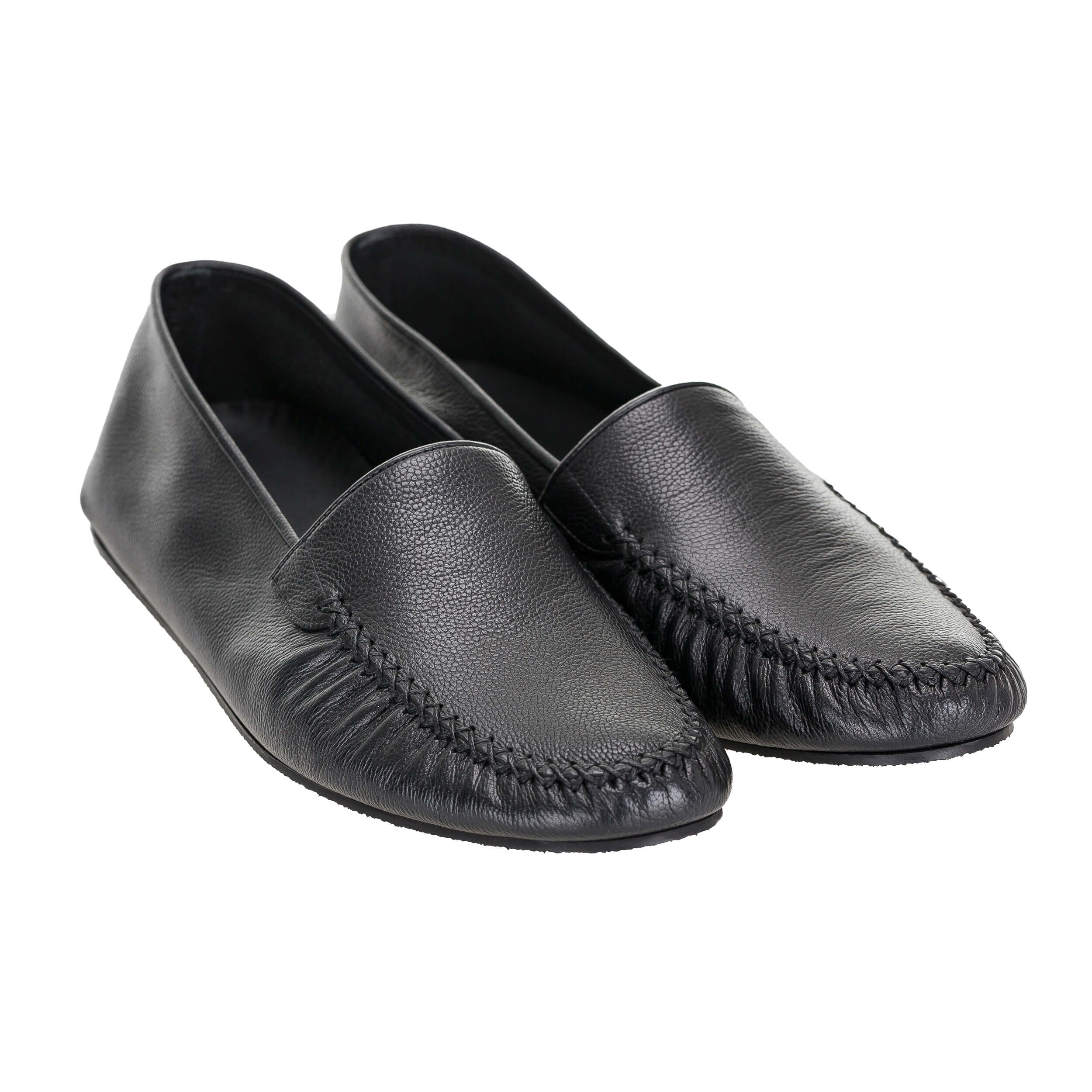 Barton Classic Leather Loafer Shoes