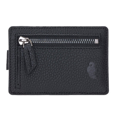 Slim Pull Up Credit Card Wallet with Keychain / Coin Pouch - Burkley Case