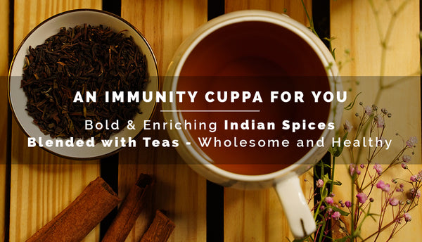 The power of 5 Indian spices in TDT Teas