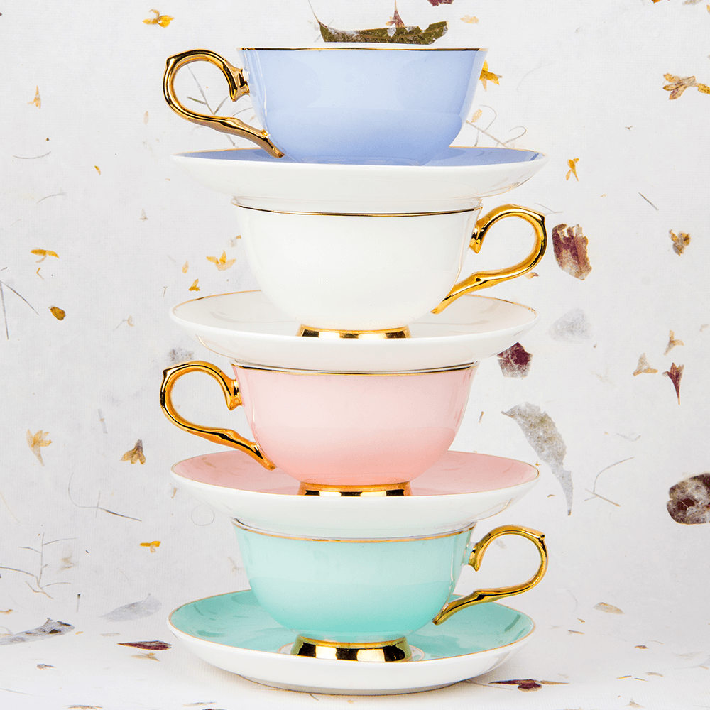English Ecstasy Cups & Saucers