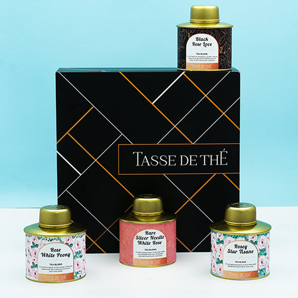 Exotic Rose tea gift set
