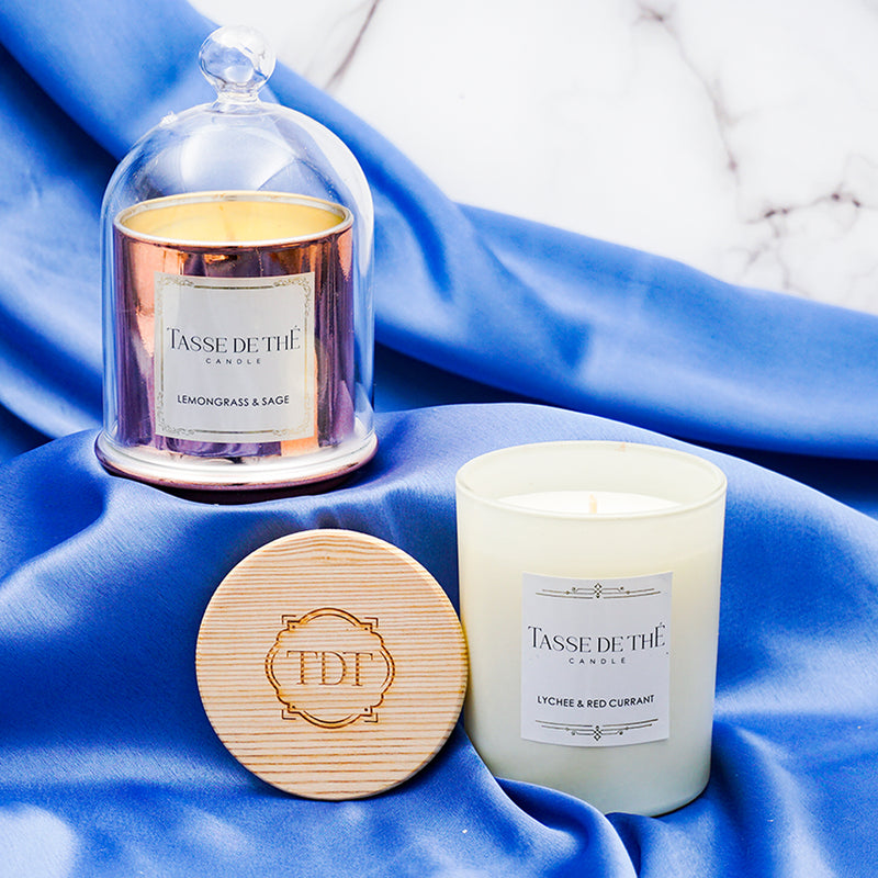 TDT Scented Fabulous Flames, Soya Wax Candle Set