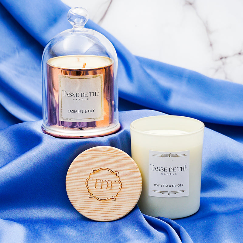 TDT Scented Classy Twist, Soya Wax Candle Set