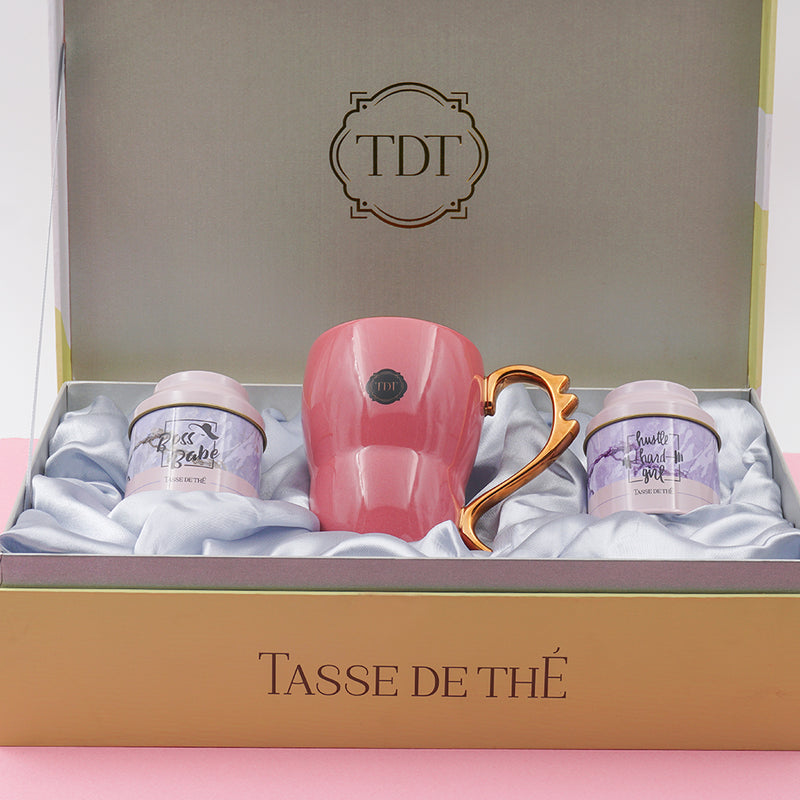 Start Your Day Like A Boss Gift Set – 2 Teas + Mug