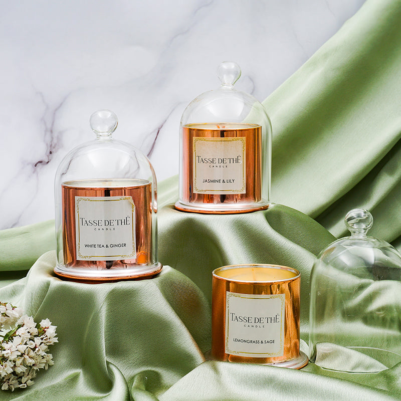 TDT Scented Elegant Radiance, Soya Wax Candles