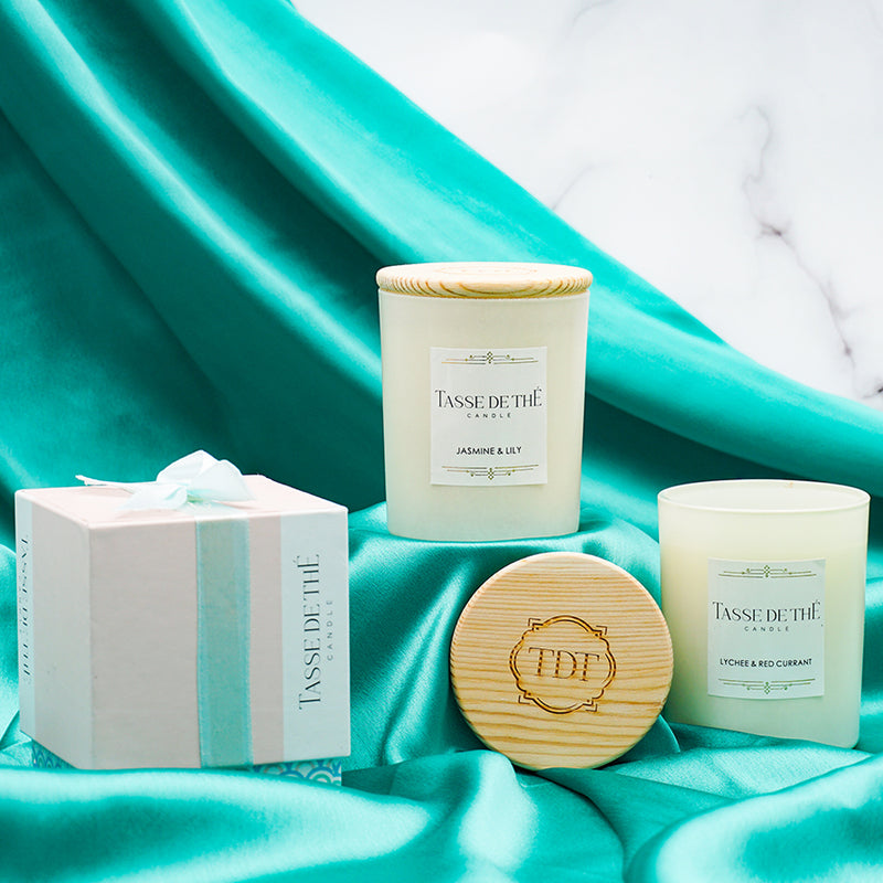 TDT Scented Aromance, Soya Wax Candle Set