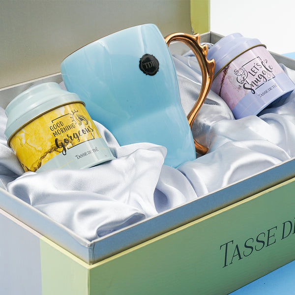 The Ultimate Routine for a Boss Babe Gift Set – 2 Teas + Mug