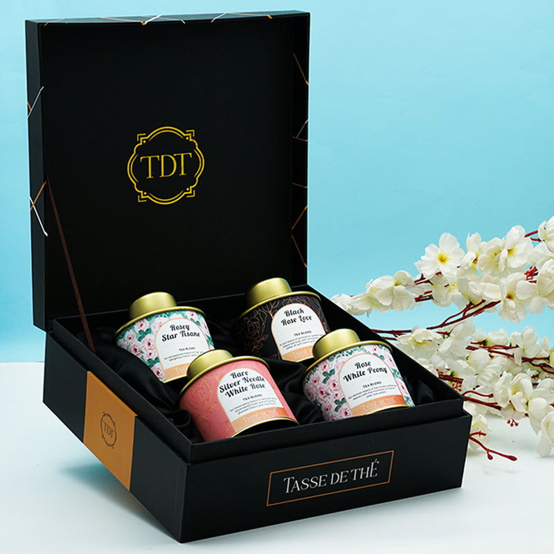 Exotic Rose Tea Set