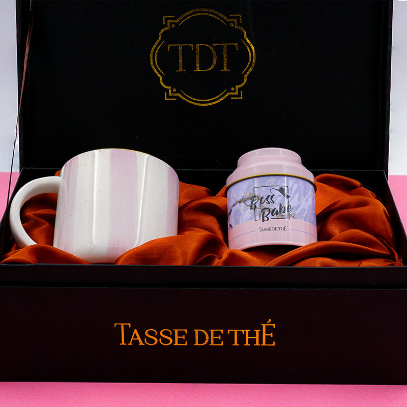 Boss Babe Fuel Gift Box Set - Mug + Tea