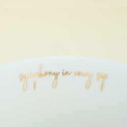 Charming Ceramic Green & White, Tea & Coffee Mug (450ml)