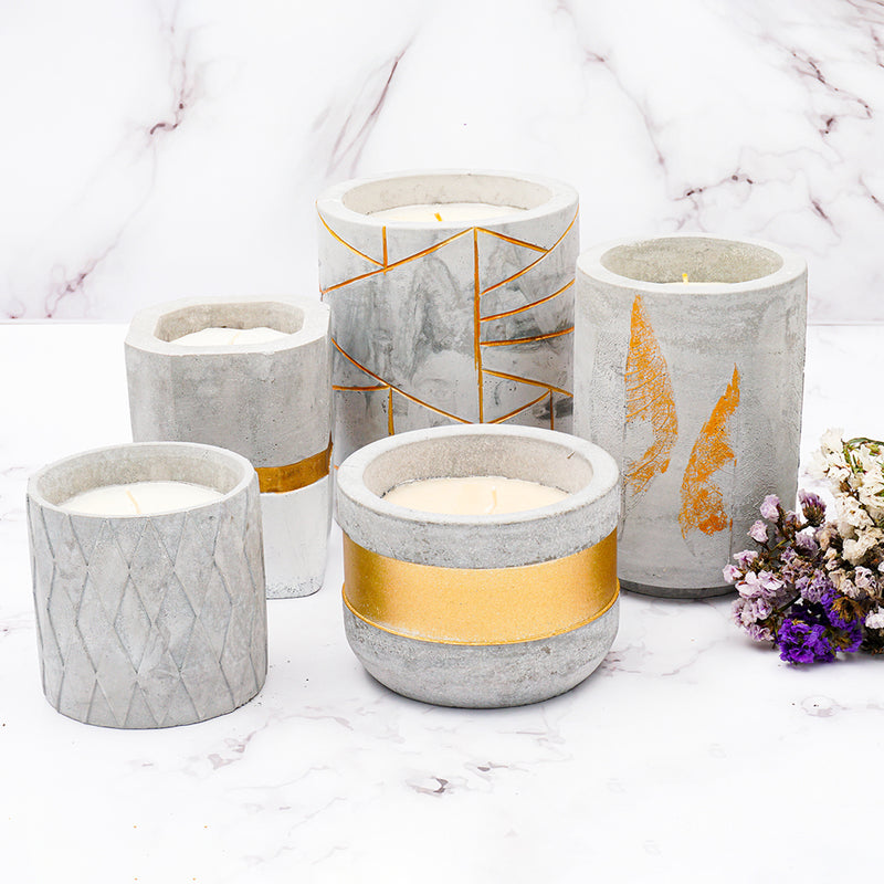 TDT Scented Candle Collective, Paraffin Wax Candle Set