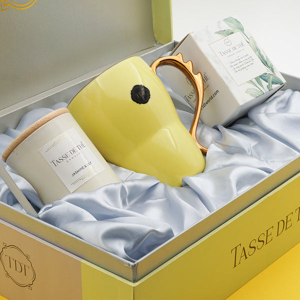Ultimate Beauty Care Gift Set – Candle + Mug + Tea