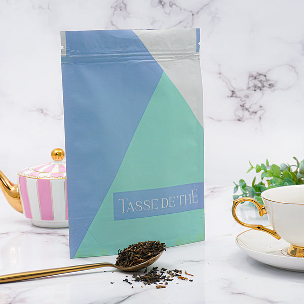 Kiss of Mint loose leaf tea blend pouch, 200G