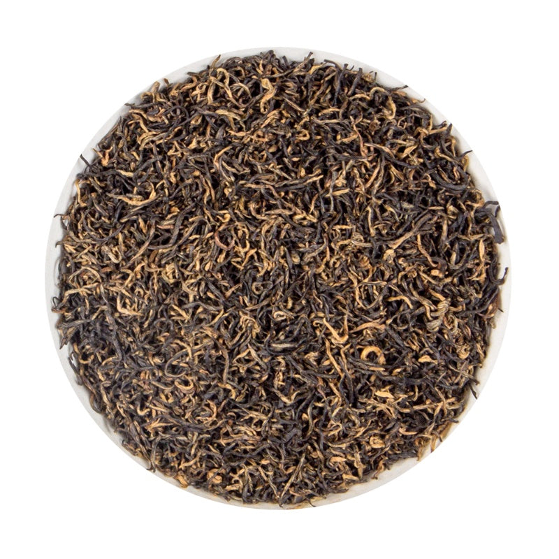 Chinese Red Leaf - Platine Black loose leaf Tea pouch, 100G