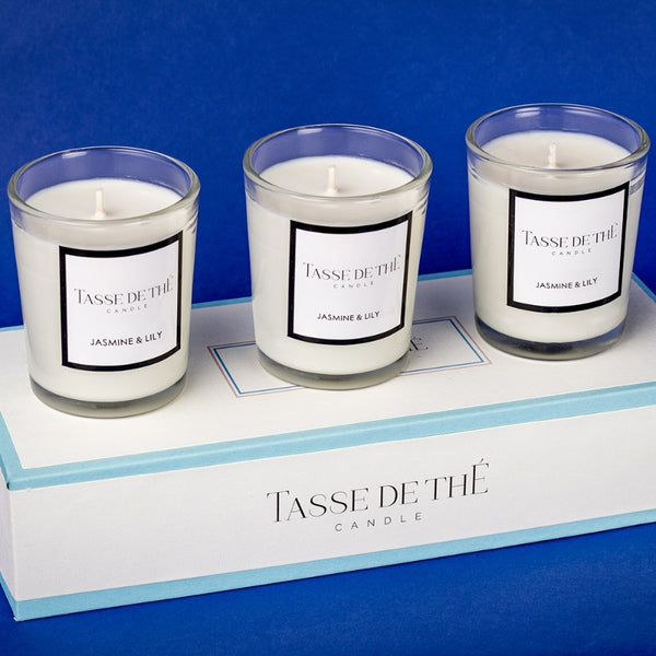 Jasmine & Lily Trio Candle