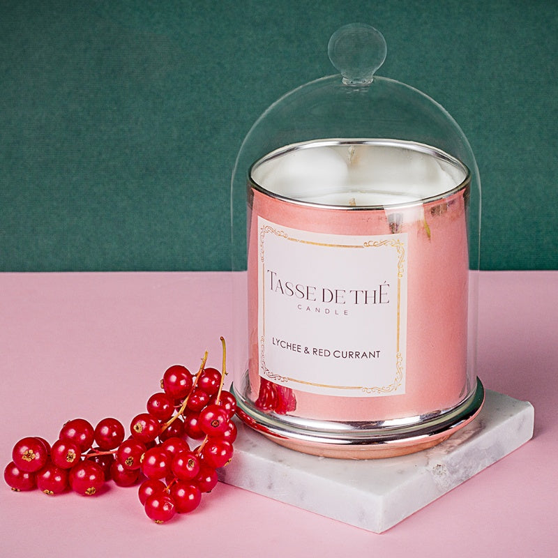 Princely Lychee & Red Currant Candle