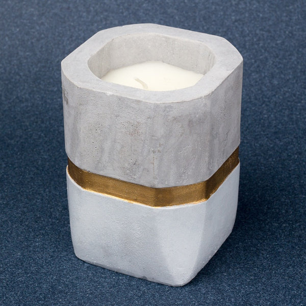 Golden Lining Candle