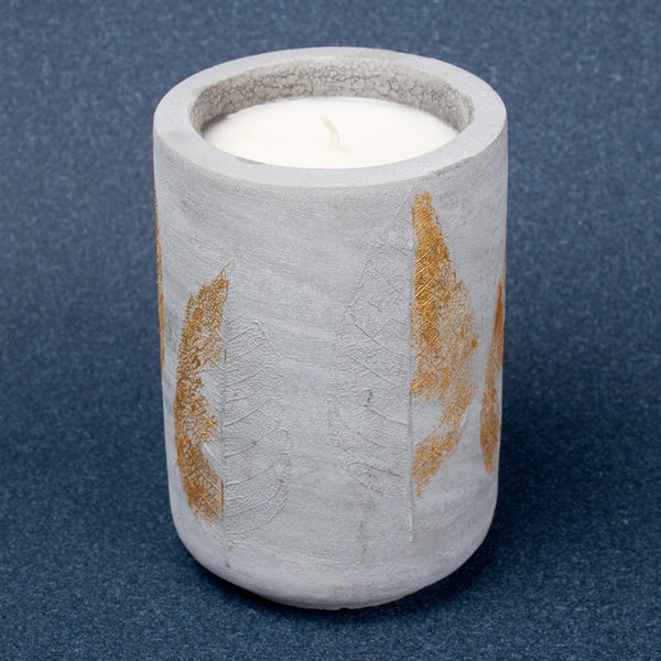 Gold foilage Candle