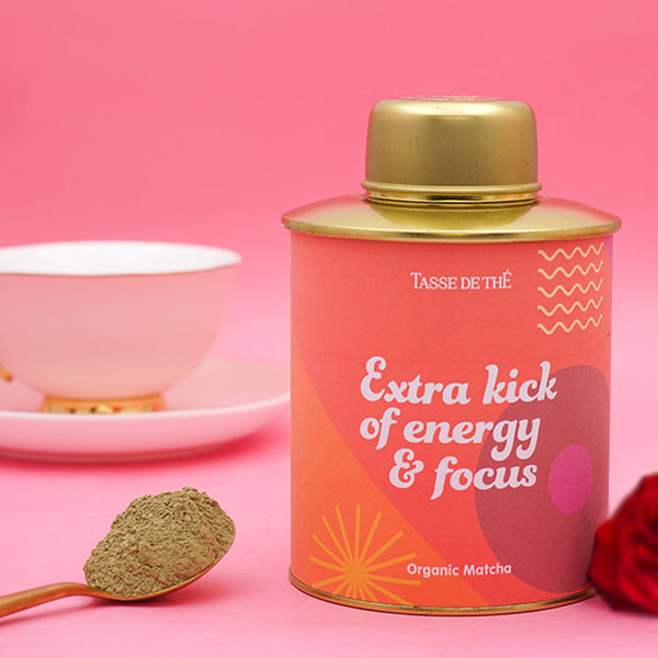 Extra kick of energy and focus, 100G