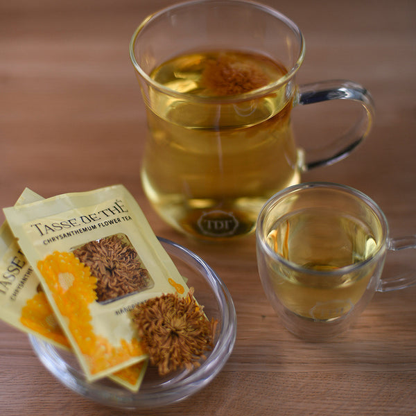 Handpicked Yellow Chrysanthemum Flower Tea Packet